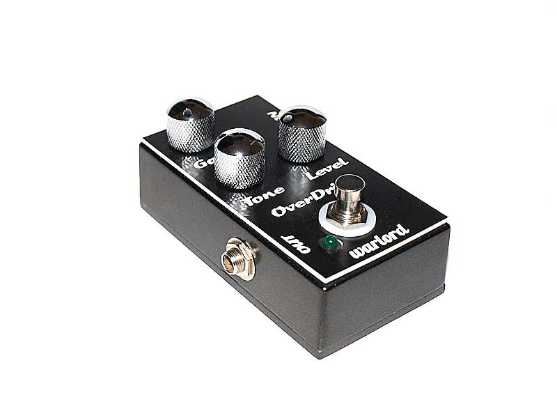 image of a classic  Overdrive pedal