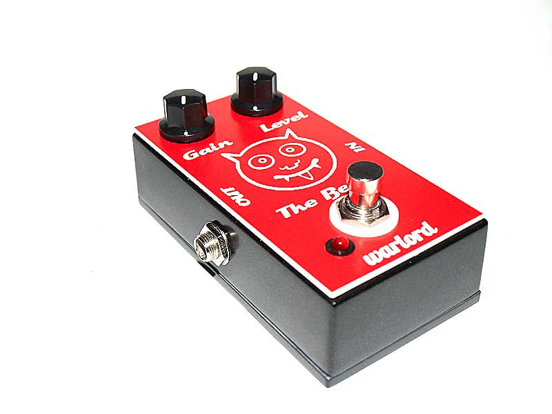 A picture of the Beast guitar fuzz pedal by Warlord Custom effects