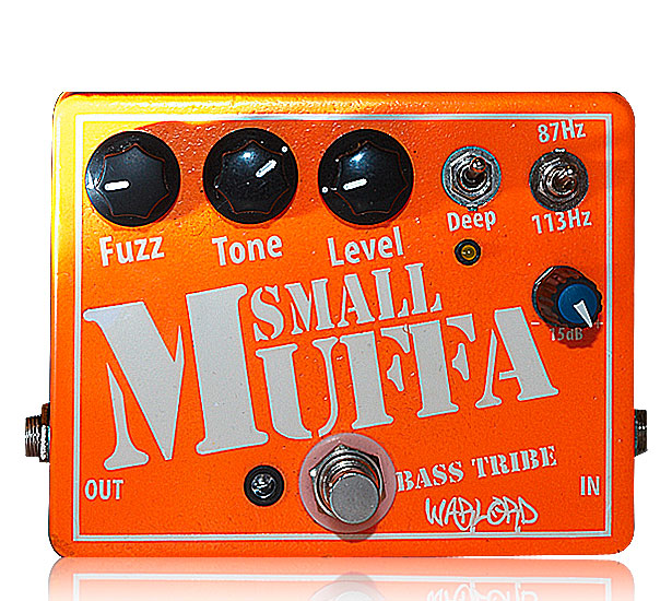 image of Small muffa, bass fuzz pedal by Warlord custom