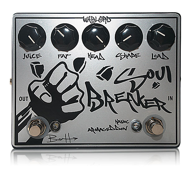 image of custom guitar distortion pedal Soul Breaker