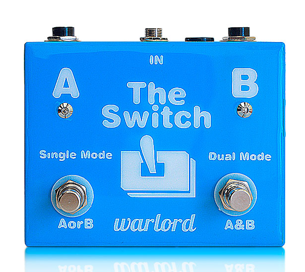 Innovative Amp Switching pedal.