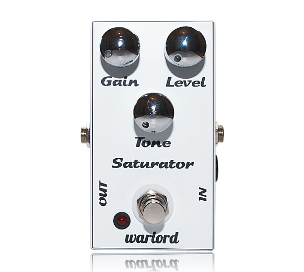 this is the photo of a fuzz pedal, the Saturator